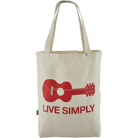 Patagonia Market Tote live simply guitar/bleached stone